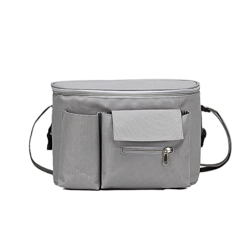 QIANJINGCQ Explosive style baby stroller bag multifunctional outing mommy bag waterproof maternal and child storage bag stroller bag backpack