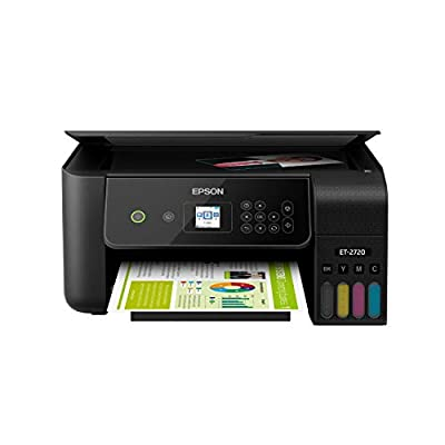 Epson EcoTank ET-2720 Wireless Color All-in-One Supertank Printer with Scanner and Copier