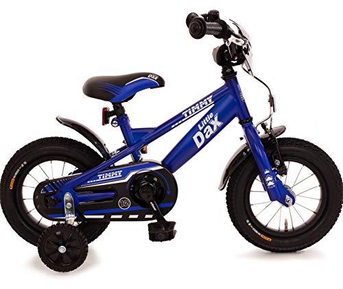 Fahrrad 12 Zoll Rücktrittbremse Ständer Stützräder Kinderfahrrad Kinderrad Mädchen Jungen Matt Blau
