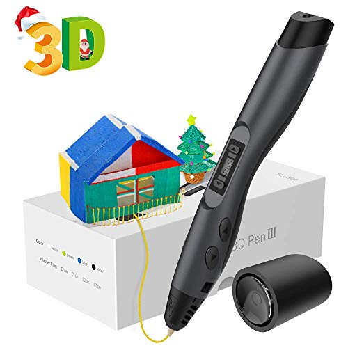 Aerb Intelligent 3D Pen with LED Display,USB...