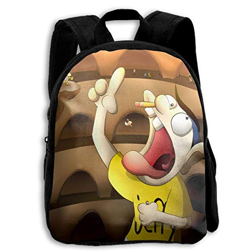 Yaxinduobao Jeffy Mochila para niños preescolares para estudiantes, mochilas para niños y niñas