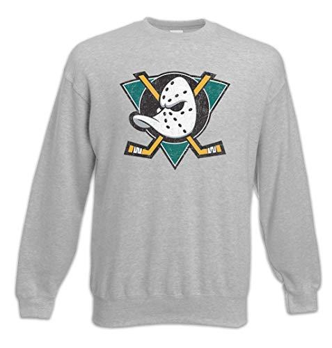 Urban Backwoods Ducks Hockey Sweatshirt Pullover Grau Größe XL