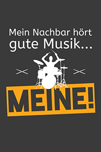 Mein Nachbar hört gute Musik Meine: Jahres-Kalender für das Jahr 2021 im DinA-5 Format für Musikerinnen und Musiker Musik Terminplaner
