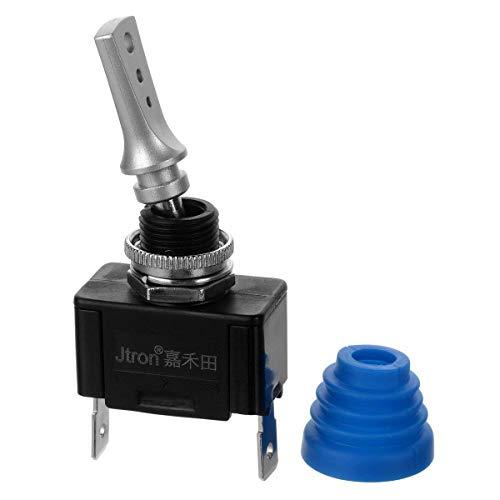 Interruttore per batteria 12 V 50 A per auto 50 V max interruttore a leva on//off 2P SPST 22 mm moto Jtron barca