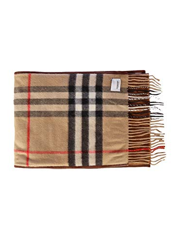 BURBERRY Luxury Fashion Herren 8024510 Braun Foulard | Frühling Sommer 20