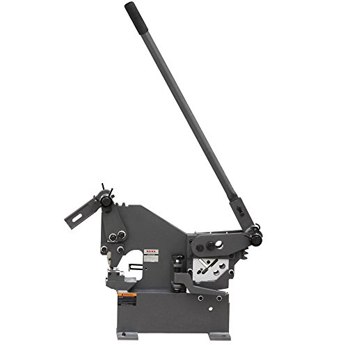 KAKA Industrial PBS-9 Bar And Section Shear, Manual Hole Punch Iron Worker