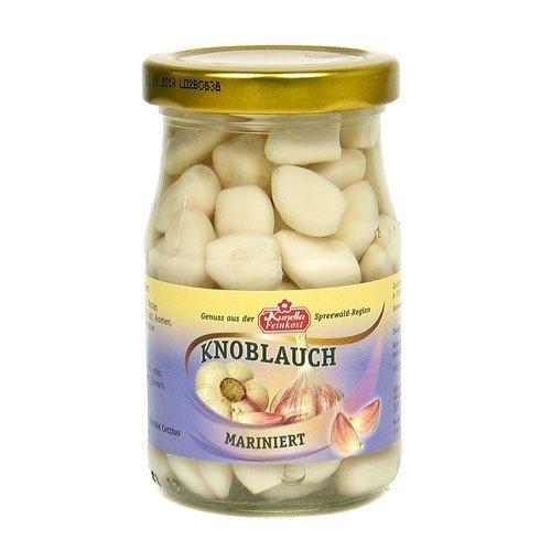 Knoblauchzehen mariniert (185 g Glas)