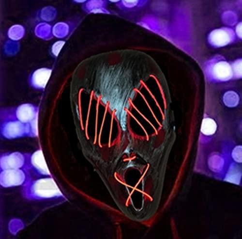 GREATOOL Máscara LED Halloween,...