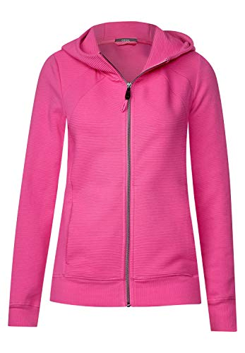 Cecil 252827 Felpa, Rosa (Bubblegum Pink 11599), Medium Donna