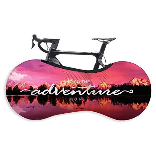 LHYAN Cubierta de Rueda de Bicicleta elástica Antipolvo para Bicicleta de 26 a 29 Pulgadas,145 * 55cm
