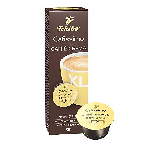Tchibo Cafissimo Caffè Crema XL Kapseln für große Kaffeebecher, 10 Stück