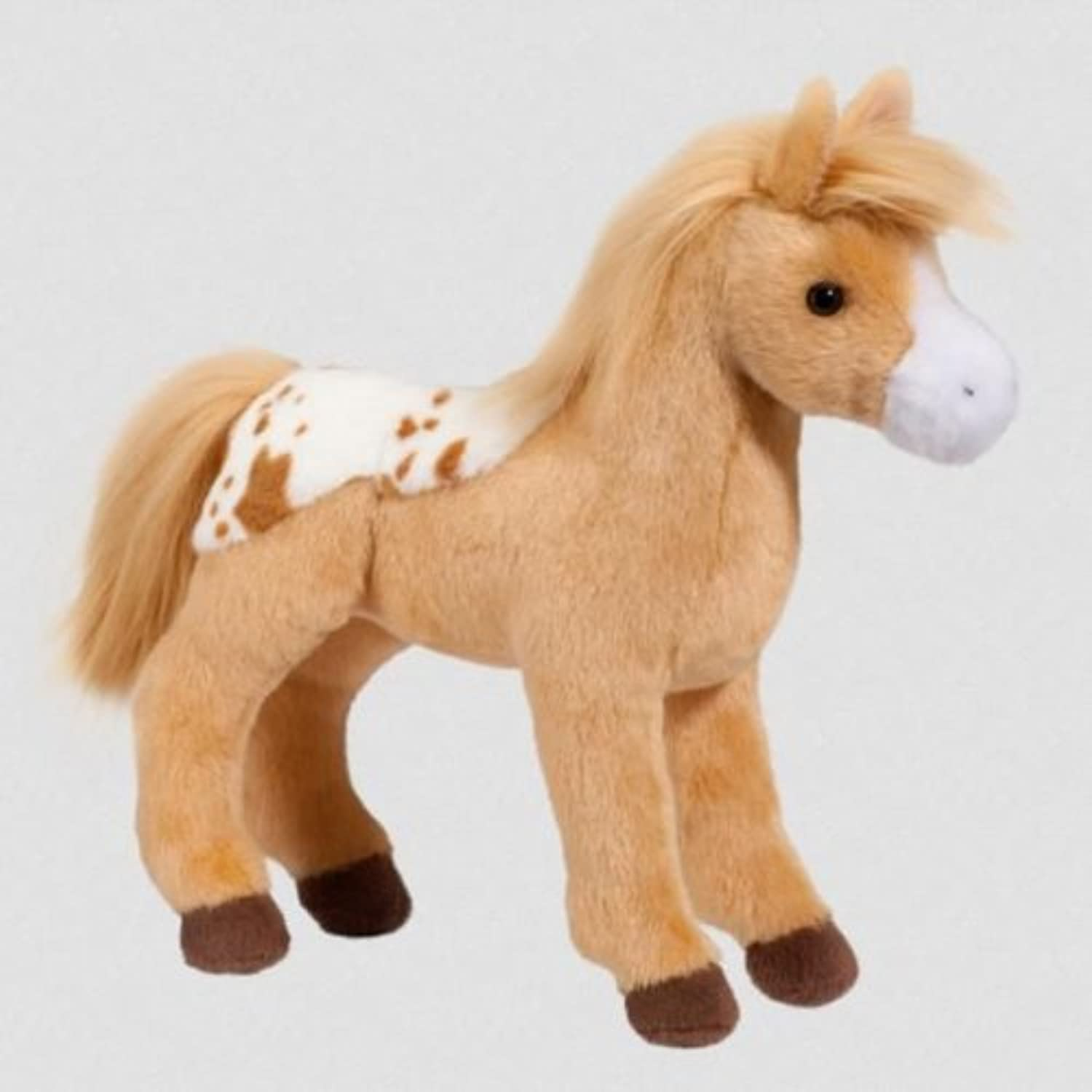 12  Plush Diana golden Blanket Appaloosa Horse by Douglas Cuddle Toys