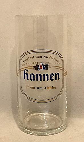 Hannen Altbier Glas/Gläser 0,25 / Bier Gläser / 6 Stück