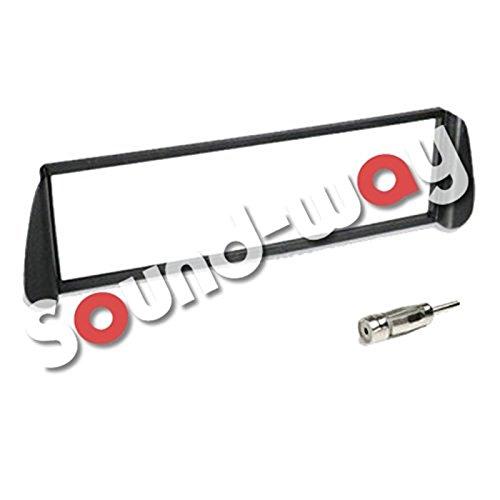 Sound-way 1 DIN Radiopaneel Frame Autoradio, Antenne Adapter, ondersteuning voor Citroën Xara, Picasso