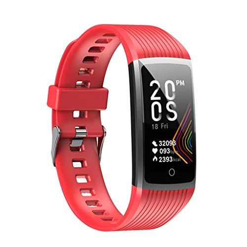 Monitores de actividad Las mujeres de la presión arterial del ritmo cardíaco inteligente deportes de los hombres relojes inteligentes reloj pulsera Deportes podómetro impermeable aptitud tracke Compat