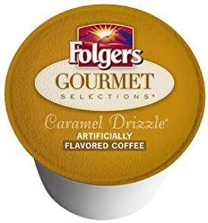 Folgers Gourmet Selections Caramel Drizzle K-Cups (72 count) by Folgers