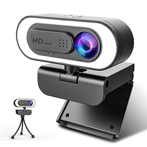 full hd webcam with light