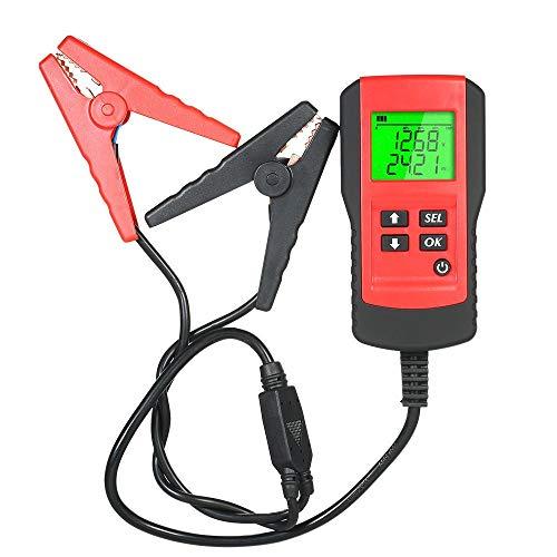 HTSHOP Professionelle Werkzeuge, Elektroauto/Auto Batterie Tester, Innenwiderstand Lebensdauer Batterie Strom Kapazität Tester, Geeignet for Verschiedene Modelle