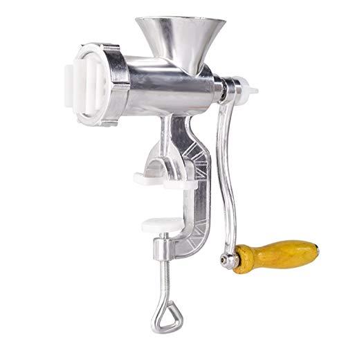 SISHUINIANHUA Fleischwolf Aluminiumlegierung Nudeln Schleifmaschine Geschirr Herstellung Gadgets Mincer Nudelmaschine Fleisch in Scheiben schneiden