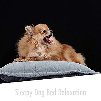 Sleepy Dog Bed Relaxation