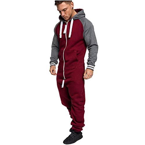 FRAUIT Plus Size jumpsuit jogging herfst winter naden kleur overall casual hoodie onesie jogging sportpak hoodie print ritssluiting print trainingspak