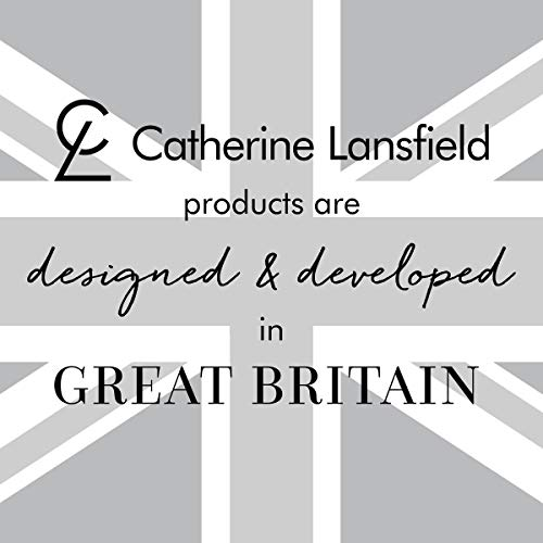 Catherine Lansfield Sequin Cluster Juego de edredón, Plateado, King Duvet Set