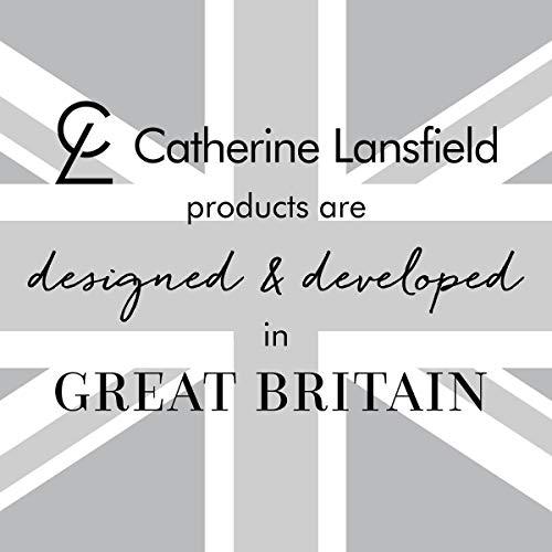 Catherine Lansfield Juego de Funda de edredón de Lentejuelas para Cama Super King, Color Rosa
