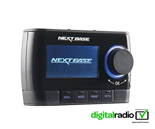 Nextbase Adapt DAB250 In-car DAB+ DAB Digital Radio with FM Digital Audio...