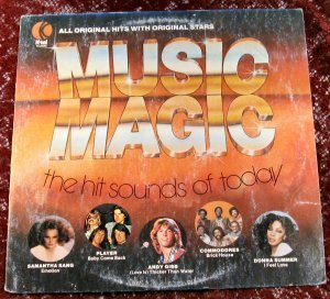 K-tel Music Magic The hit sounds of today 1977