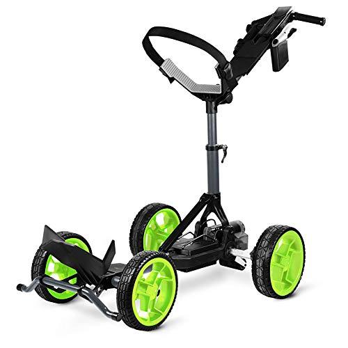 Sun Mountain 2021 RC1 Remote Lithium Golf Push Cart - Gunmetal/Flash