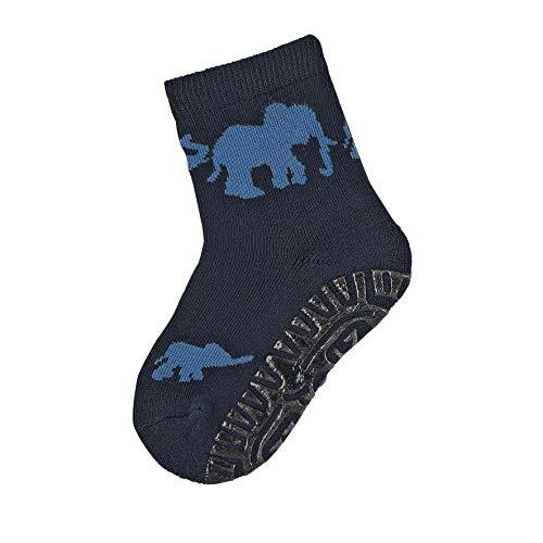 Sterntaler Söckchen, Fliesen Flitzer Air, Elefanten-Motiv, Größe: 22, Blau (Marine)