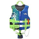 HeySplash Life Jacket for Kids, Child Size Watersports Swim Vest...