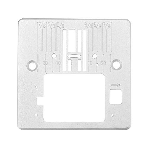 Placa de la garganta de la aguja para los accesorios de la máquina de coser de acero inoxidable Singer 4423 4432 5511