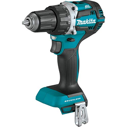 Makita XFD12Z 18V LXT Lithium-Ion Brushless Cordless 1/2' Driver-Drill, Tool Only,