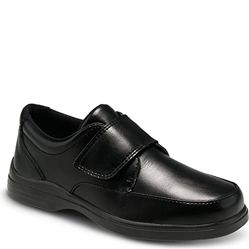 Hush Puppies Kids' Unisex Gavin Dress Shoe, Black, 13 M US...