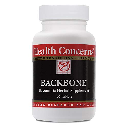 Health Concerns - Backbone - Wan Du Hua Yu Tang Chinese Herbal Supplement - Lower Back Pain Relief - with Eucommia Bark - 90 Tablets per Bottle