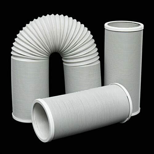 1.5m / 2m / 3m Abluftschlauch Flexibel PP für Klimaanlage Mobil Klimagerät (3m)