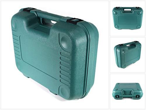 Makita Transport Werkzeug Koffer grün für BHP/DHP 452 und BJV/DJV 180 und Akkus und Ladegerät