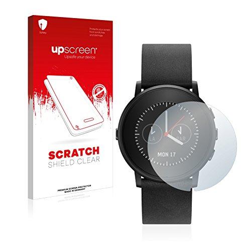 upscreen Schutzfolie kompatibel mit Pebble Time Ro& – Kristallklar, Kratzschutz, Anti-Fingerprint