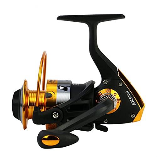 ZHYLing Nuevo Spinning Pesca Reel Spool Metal 12BB Bolas de rodamiento 1000-7000 Serie Rueda de Pesca (Spool Capacity : 4000 Series)