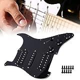 Golpeador de guitarra eléctrica, Práctico golpeador de guitarra eléctrica profesional estándar americano, para guitarra eléctrica ST Guitarra eléctrica SQ(black)
