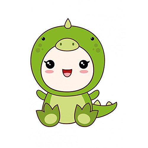 Youdesign FR Stickers Autocollants Enfant déco bébé Manga Crocodile réf 435 - Hauteur 15 cm