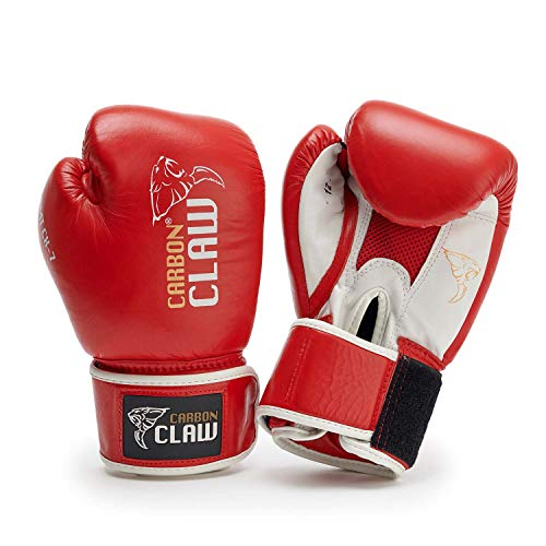 Carbon Claw mit-Amt-Sparring-Handschuhe –, 8oz, Rot
