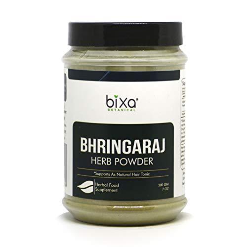 Ideal Hair Tonic Bhringraj Powder (Eclipta Alba) – 200g (7 Oz)   Pure & Natural Supplement, externally for strengthening Hair follicles & Hair Growth  