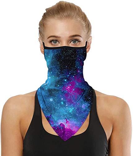 CGBOOM Bandana Unisex para la Cara, Máscara de Ciclismo Protección UV Bucles para la Cara Pasamontañas Polainas para el Cuello Paño Lavable Máscara para Motocicleta para Hombres y Mujeres