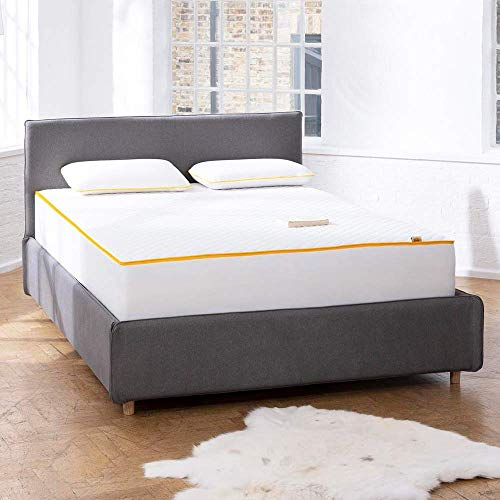 eve Sleep Premium Mattress, UK King, Four Layer Memory Foam Mattress Designed for Ultra Comfort and Support, Made in the UK, 150 x 200 cm