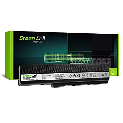 Green Cell Standard Serie A32-K52 Batteria per Portatile Asus A52 K52 K52D K52F K52J K52JC K52JE K52JR K52JT K52N X52 X52J X52N (6 Pile 4400mAh 10.8V Nero)