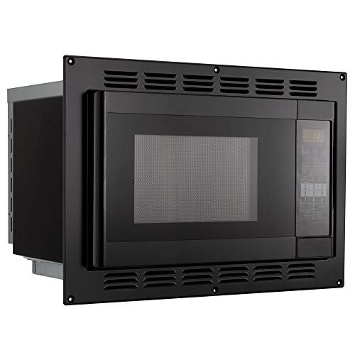 RecPro RV Convection Microwave Black 1.1 Cu. ft | 120V | Microwave | Appliances | Direct Replacement for High Pointe