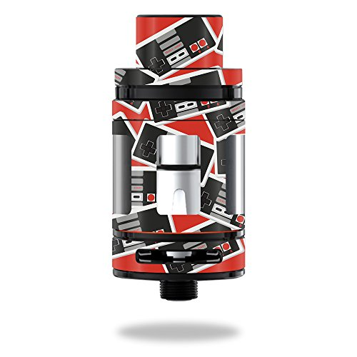 MightySkins Skin Compatible with Smok Mini TFV8 Big Baby Beast – Retro Controllers 3 | Protective, Durable, and Unique Vinyl wrap Cover | Easy to Apply, Remove, and Change Styles | Made in The USA