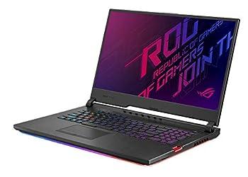 "ASUS ROG Strix Hero III Gaming Laptop 17.3"" 144Hz IPS Type Full HD NVIDIA GeForce RTX 2070 Intel Core i7-9750H 16GB DDR4 512GB PCIe SSD + 1TB FireCuda Per-Key RGB KB Windows 10 G731GW-DB76"